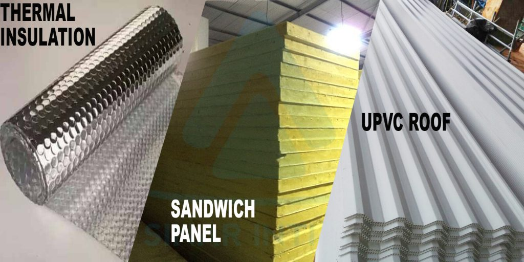 GOLDEN HORSE UPVC ROOF, SANDWICH PANEL, DAN  INSULASI