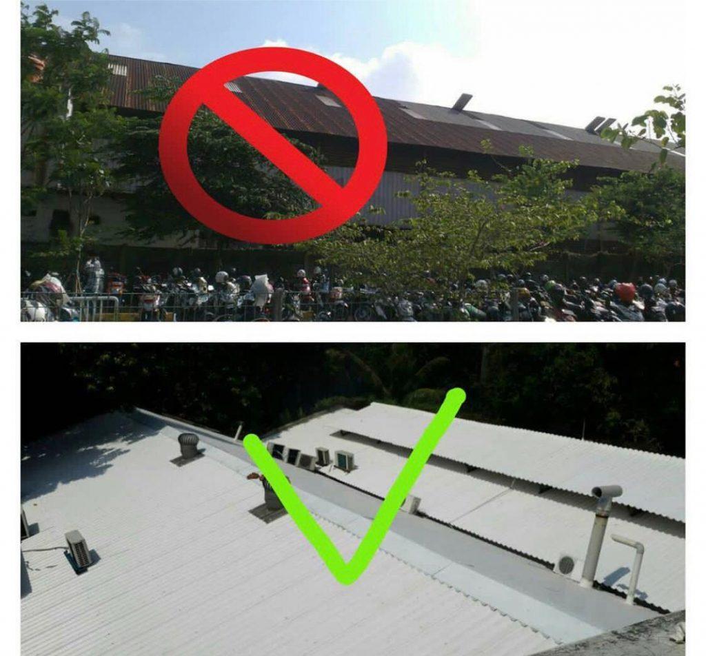 Atap Metal dan Atap UPVC
